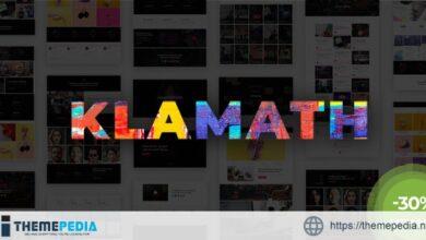 Klamath – Multipurpose Creative Portfolio WordPress Theme [Free download]