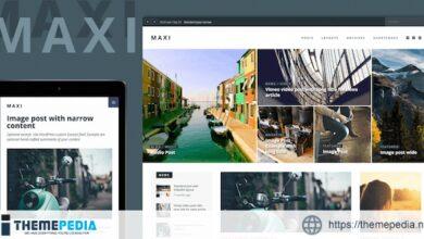 Maxi – News & Magazine Theme [nulled]
