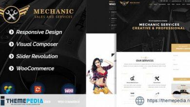 Mechanic – Car Service & Workshop WordPress Theme [Free download]