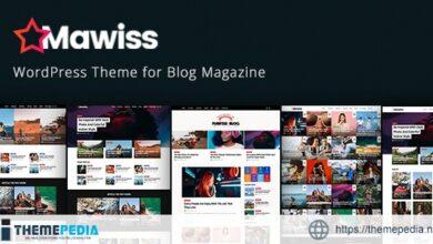 Mawiss – WordPress Blog Magazine Theme [Free download]
