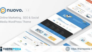Nuovo – Social Media, Digital Marketing Agency, SEO WordPress Theme [Free download]