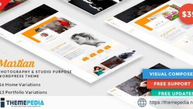Martian – Photography & Studio Purpose WordPress Theme [Free download]