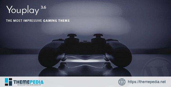 Youplay – Gaming WordPress Theme [Free download]