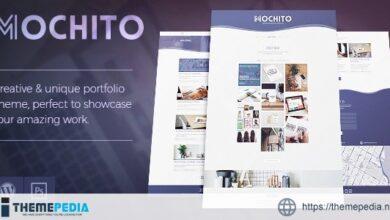 Mochito – One-Page Portfolio Ajax WordPress Theme [Free download]