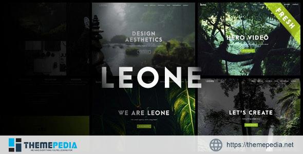 Leone – One Page Multi Purpose WordPress Theme [Updated Version]