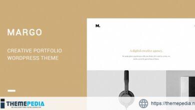 Margo – Creative Portfolio WordPress Theme [Free download]