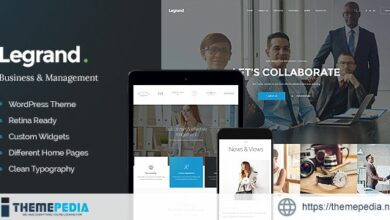 LeGrand – A Modern Multi-Purpose Business WordPress Theme [Free download]