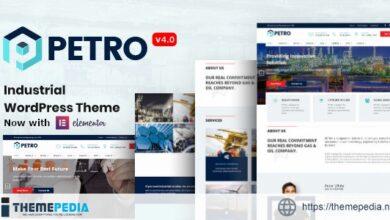 Petro – Industrial Company WordPress Theme [Free download]