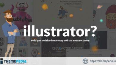 Illustrator – Illustration & Artist Portfolio [Free download]