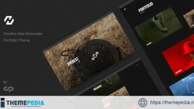 Hervin – Creative Ajax Portfolio Showcase Slider Theme [Free download]