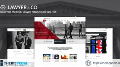 Lawyer&Co – WordPress Theme for Attorneys and Legal Firms [nulled]
