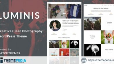 Luminis – Photography WordPress Theme for Wedding, Travel, Event Portfolios [Free download]