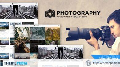 MT Photography – WordPress Theme [Free download]