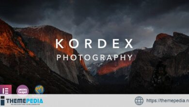 Kordex – Photography Theme for WordPress [Free download]