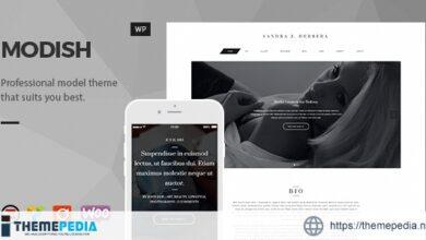 Modish – Fashion Model WordPress Theme [Latest Version]