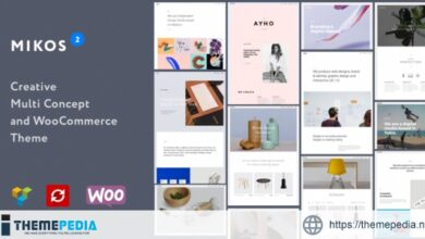 Mikos 2 – Creative Multi Concept and WooCommerce WordPress Theme [Free download]