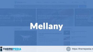 Mellany – WordPress Theme for Magazine – News – Blog [Latest Version]