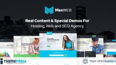 MaxWeb – Hosting & SEO Agency WordPress Theme [Updated Version]