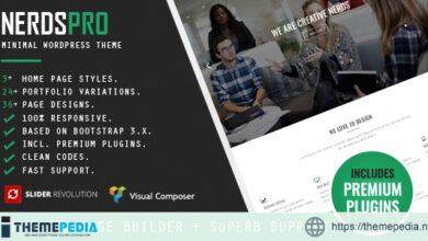 Nerdspro – Minimal WordPress Theme [Free download]