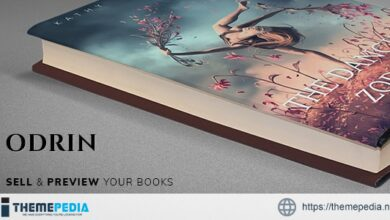 Odrin – Book Selling WordPress Theme for Writers [Free download]