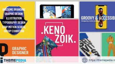 Kenozoik – Vibrant Portfolio Theme [Free download]