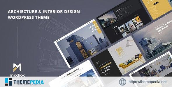 Modrox – Architecture And Interior WordPress Theme [Free download]