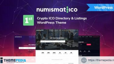 Numismatico – Cryptocurrency Directory & Listings WordPress Theme [Free download]