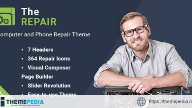 The Repair – Computer and Electronic WordPress Theme [Free download]
