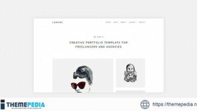 Lamark – Freelancers and Agencies Portfolio WordPress Theme for Elementor [Free download]