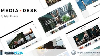 MediaDesk – Magazine WordPress Theme [Latest Version]