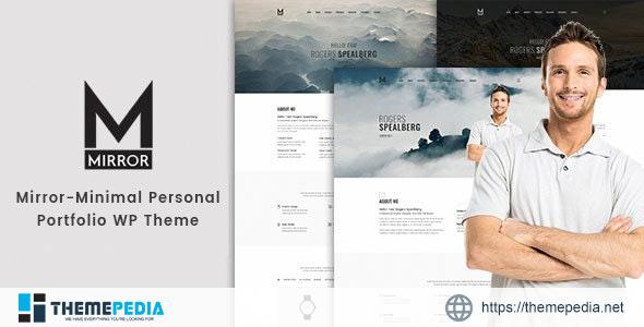Mirror – Minimal Portfolio WordPress Theme [Free download]