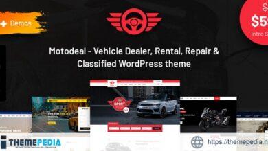 Motodeal – Car Dealer & Classified WordPress Theme [Free download]