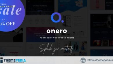 Onero – Creative Portfolio Theme for Professionals [Free download]