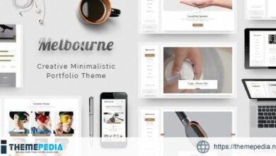 Melbourne – Portfolio [Free download]