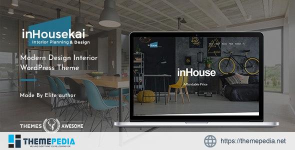 Inhousekai – Modern Design Interior WordPress Theme [Free download]