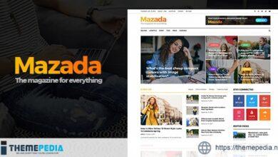Mazada – News & Magazine WordPress Theme [Free download]
