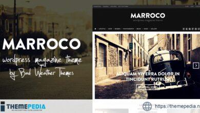 Marroco – Wordpress Magazine Theme [Free download]