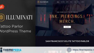 Illuminati – Tattoo Parlor WordPress Theme [Free download]