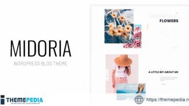 Midoria – Personal WordPress Blog Theme [Latest Version]