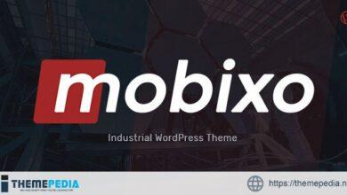 Mobixo – Industry WordPress Theme [Free download]
