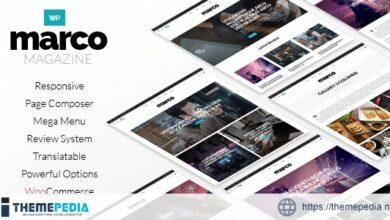 Marco – Photography Magazine WordPress Theme [nulled]