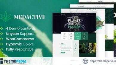 Medactive – Medical Marijuana Dispensary WordPress Theme [Latest Version]