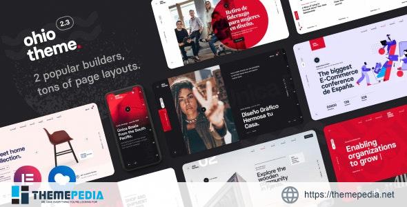 Ohio – Creative Portfolio & Agency WordPress Theme [Free download]
