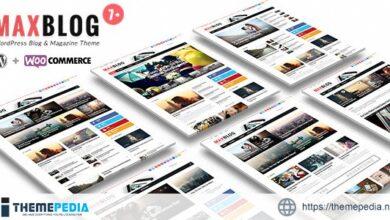 MaxBlog – Flat News Magazine Blog WP [Updated Version]