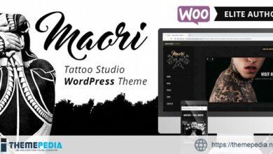Maori – Tattoo Studio WordPress Theme [Updated Version]