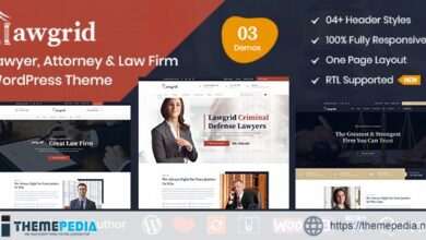 Lawgrid – Lawyer & Attorney WordPress Theme [nulled]
