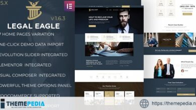 Legal Eagle – Law Firm and Business WordPress Theme [Free download]