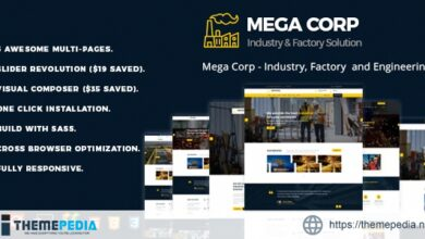 MegaCorp – Industrial Industry & Factory [Free download]