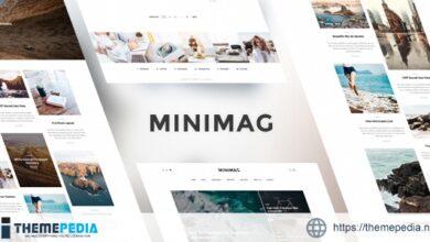 MiniMag – Magazine and Blog WordPress Theme [Free download]