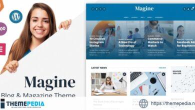 Magine – Business Blog WordPress Theme [Updated Version]